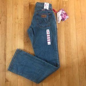 Wrangler Premium Patch Bootcut Jeans